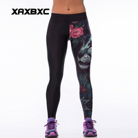 024 High Waist Workout Silm Fitness Women Leggings Elastic Pants Trousers For Sexy Girl Fashion Rose