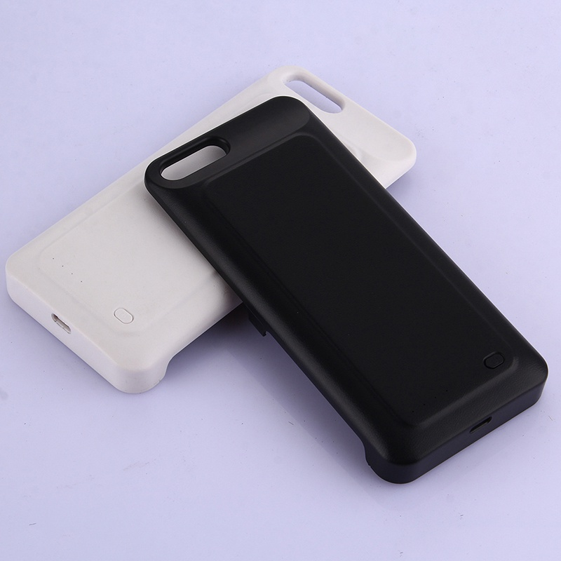 Battery Charge Case Power Bank 6800mAh Black And White Blister 156x73.5x19mm 5V/2A For Xiaomi 6