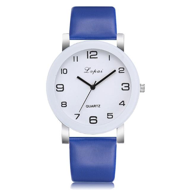 Bule Quartz Watch