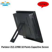 Partaker Z13 J1900 10 Points Capacitive Touch Screen Fanless All In One PC