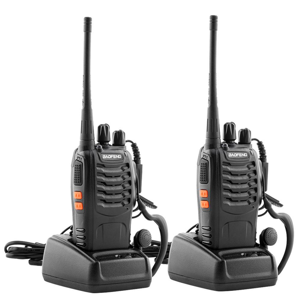 12x Baofeng BF-888S Walkie Talkie UHF 400-470MHz 5W Two Way FM Radio Transceiver