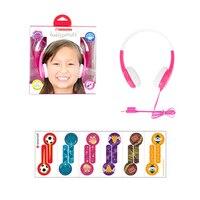ONANOFF Standard Portable Kids Headphones Safely Children Over Ear Headset with Adjustable headband for Iphone Xiaomi Smartphone