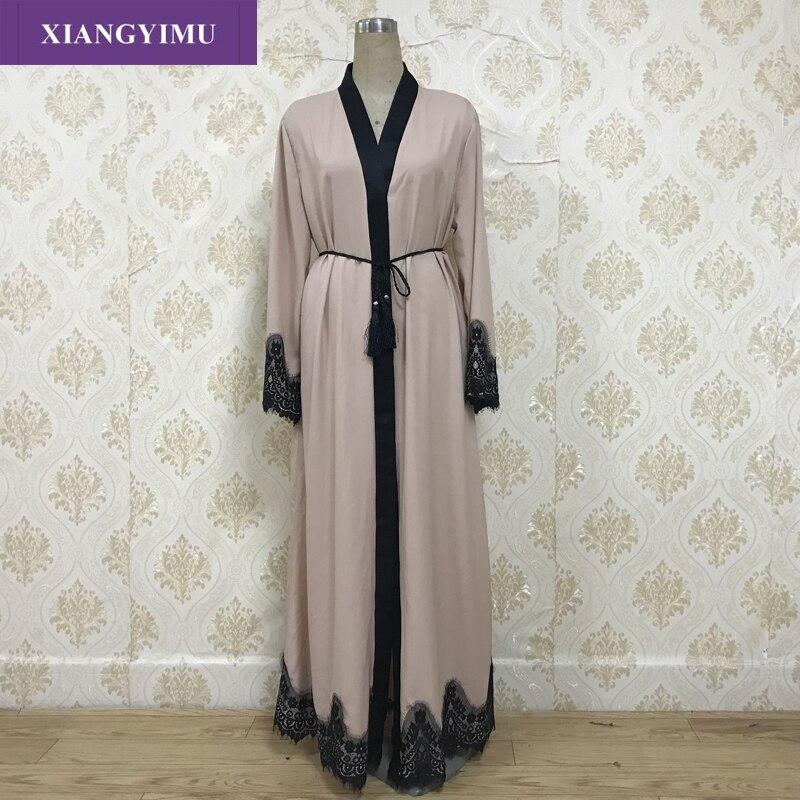 F8809-3New muslim dress abayas for women baju muslim wanita moroccan robe orientale musulman abaya robe dubai