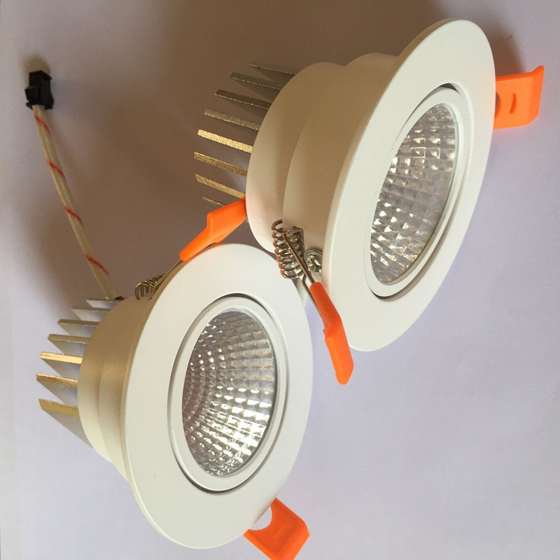 1pcs स्क्वायर उज्ज्वल Recessed - इंडोर लाइटिंग