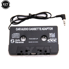 Aux Adapter Car Tape Audio Cassette Mp3 Player Converter 3.5mm Jack Plug For iPod iPhone MP3 AUX Cable CD Player hot sale(China)