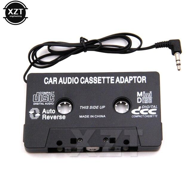 Aux Adattatore per Auto Nastro Audio Cassette Mp3 Player Converter 3.5 millimetri Martinetti Spina Per iPod iPhone MP3 AUX Cavo CD lettore di vendita calda