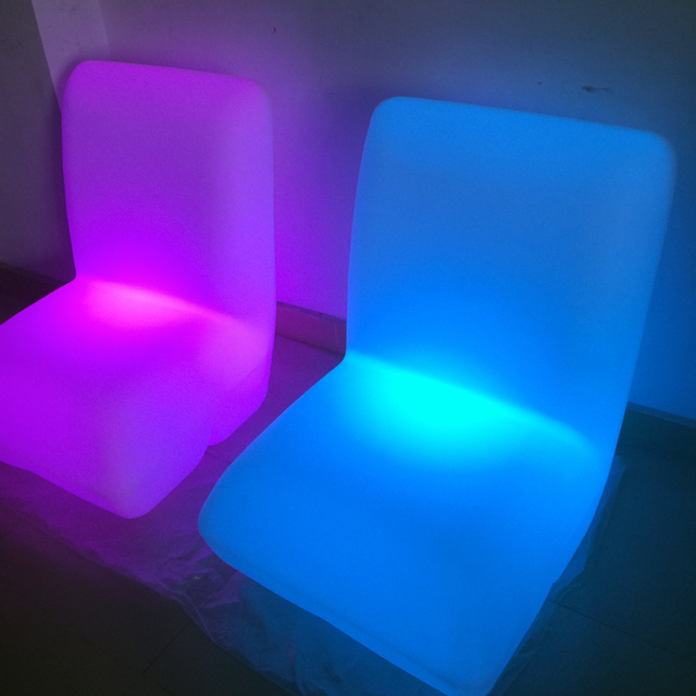 H81cm Colorful LED furniture Vondom STONE SOFA light Pillow Lounge Chair  stool rechargeable with EU/US/AU/BS adapter and remoter - H81cm Colorful LED Furniture Vondom STONE SOFA Light Pillow Lounge