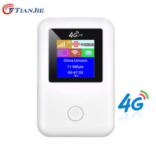 4G Router wi-fi minirouter 4G Lte szerokopasmowy kieszonkowy wi fi mobilny Hotspot Mifi z gniazdo karty Sim tanie tanio TIANJIE CN (pochodzenie) wireless 150 mbps 1x100 150Mbps 1 x USB 2 0 2 4g Brak MF904-3-3 Wi-fi 802 11b 802 11n Firewall