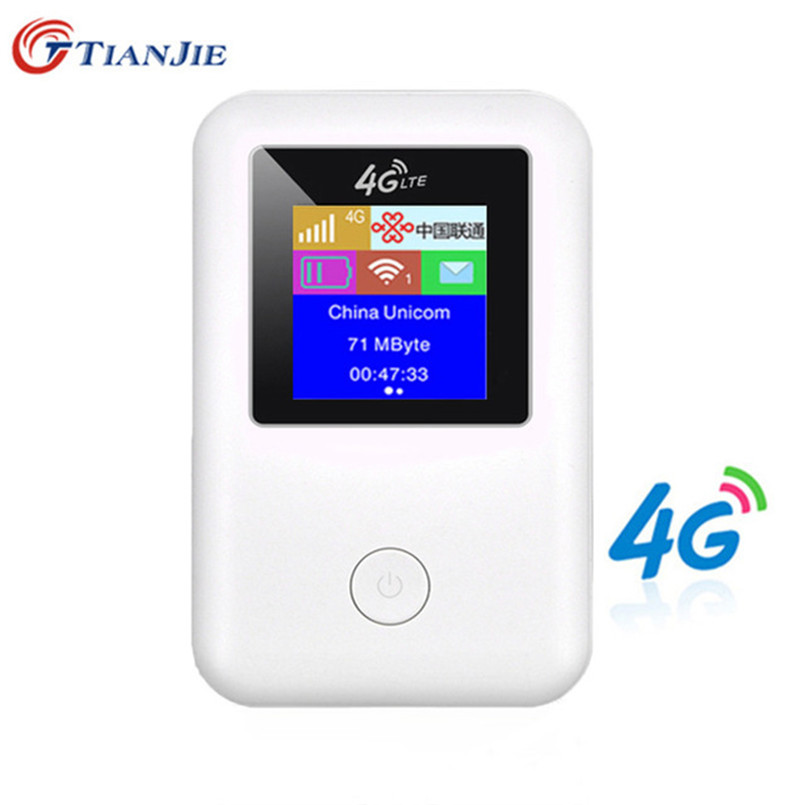 4G Wifi Router Mini Router 4G Lte Broadband Pocket Wi Fi Mobile Hotspot Mifi With Sim Card Slot