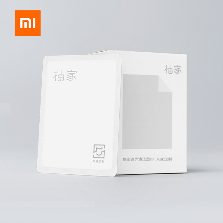 Xiaomi Mijia Phone Mirror Screen Clean 15pcs In 1 Pack Wet Wipes Pack LCD Screen Dust Removal For Smart Phone Notebook Computer
