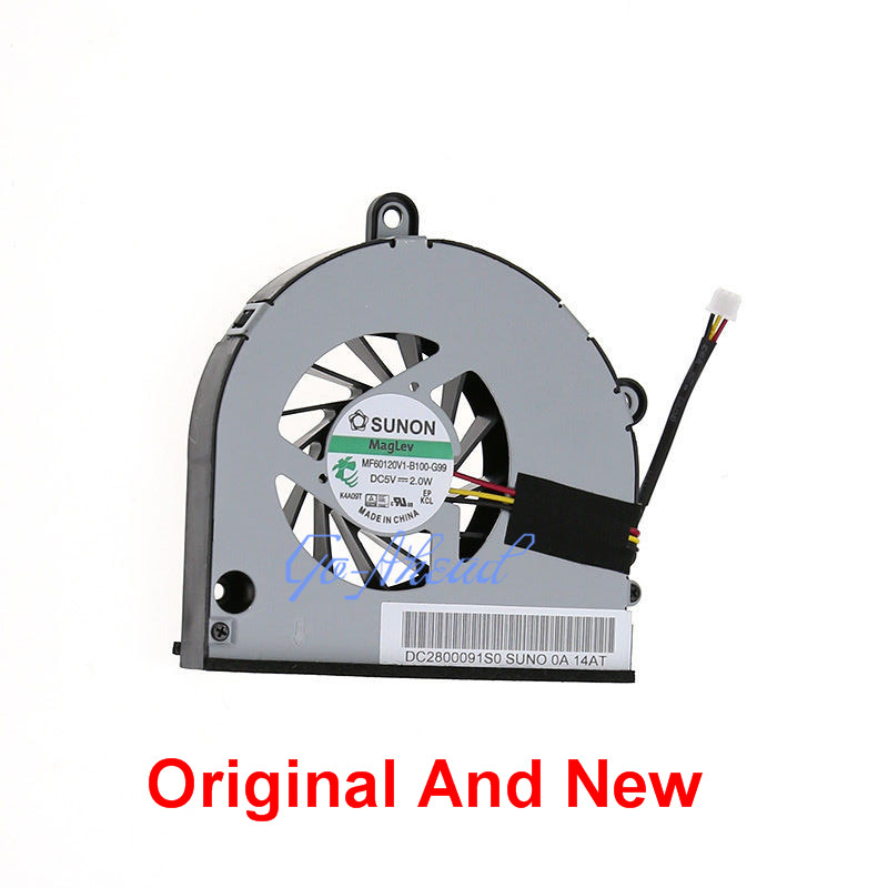New CPU Cooler Fan For <font><b>Toshiba</b></font> <font><b>Satellite</b></font> C650 C655 C660 C665 A660 A665 A665D <font><b>P750</b></font> P750D P755 P755D L675D L670 MF60120V1-B100-G9 image