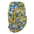Anime Adventure Time Finn and Jake Backpack Canvas Shoulder Bag Canvas Travel bag 40x29x15cm