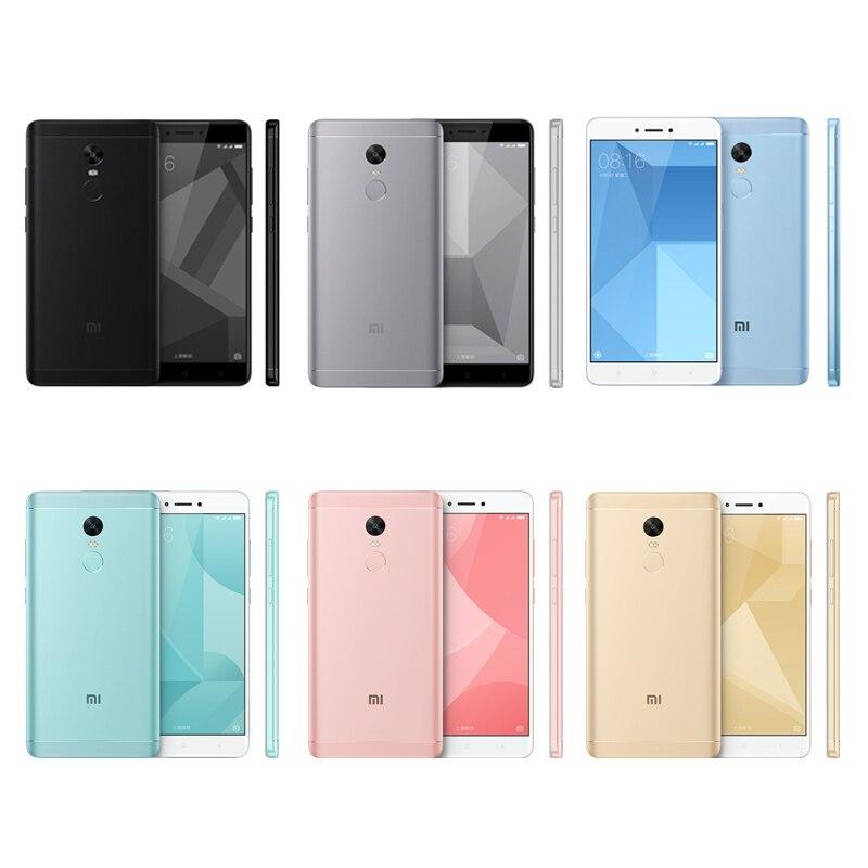 Original Xiaomi Redmi Note 4x 4 X Mobile Phone Snapdragon 625 Octa