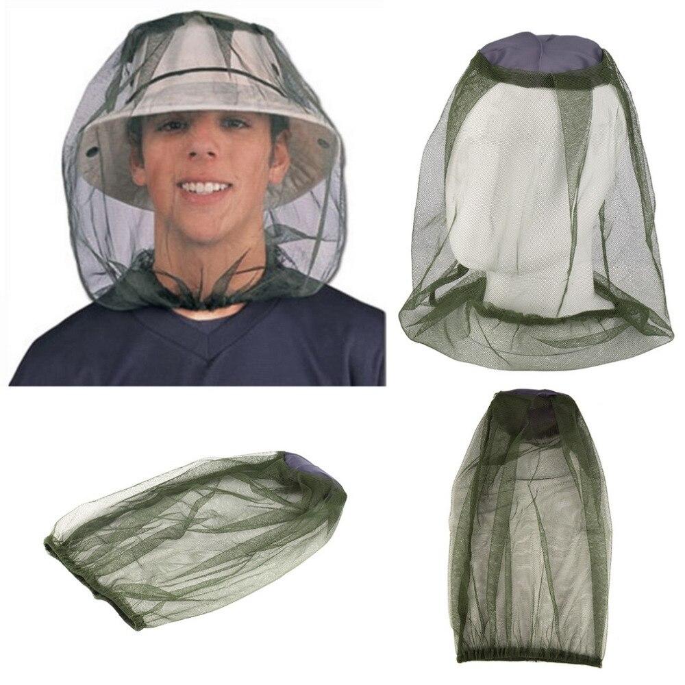 Midge Mosquito Insecto Del Insecto Sombrero Cabeza Malla Cara Protector engranaj