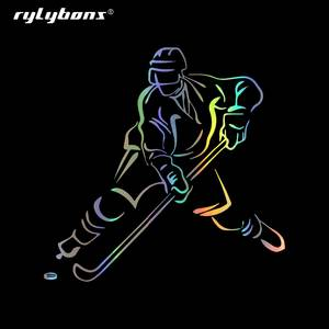 Rylybons Decals Hockey-Stickers Auto-Products Car-Styling Vinyl Motorcycle And for Window