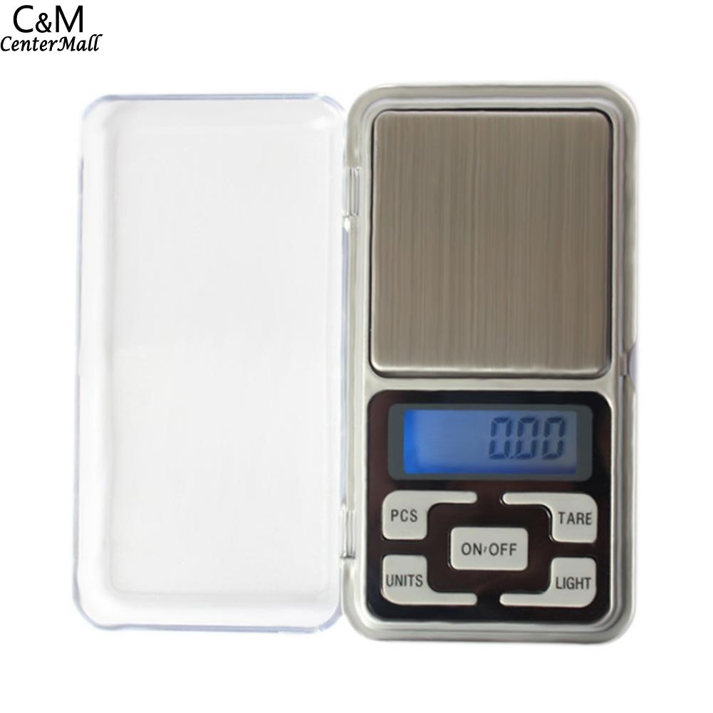 Portable Balance Gold Electronic Weighting LCD Weight Scale 100g/200g/300g/500g Jewelry Scale Diamond Digital Pocket Herb Scale 2 4 lcd portable jewelry digital pocket scale 100g 0 01g 2xaaa
