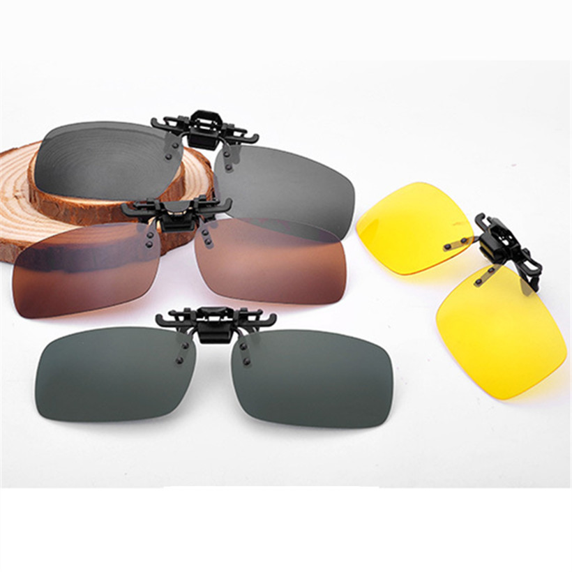 Polarized Sports Sunglasses Glare UV400 Protection HD Night Vision for Motorcycle Riding Glasses A26