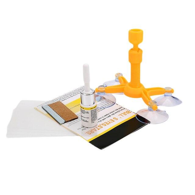 Kits de réparation de pare-brise bricolage outils de réparation de vitres de voiture 5