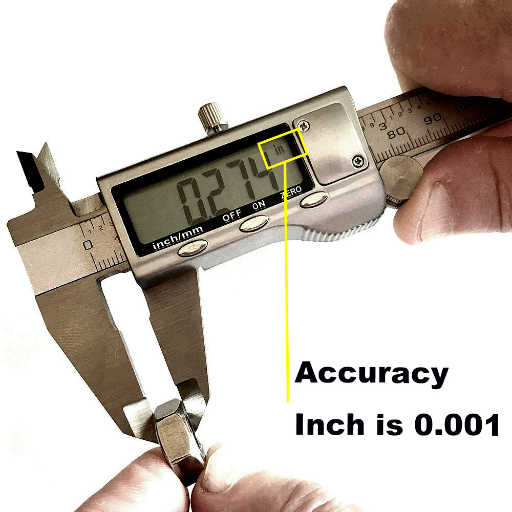 6 150mm Large LCD Screen IP54 Water Resistant Smooth gliding Durable Stainless Steel Digital Caliper font