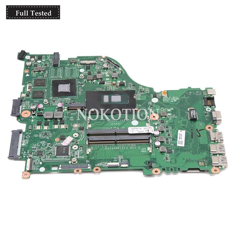 NOKOTION NBGD611005 NBGD6110056 Main board For font b acer b font Aspire E5 575G laptop motherboard