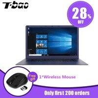T Bao Tbook R8 ноутбук 15,6 дюймов Windows 10 Intel Cherry Trail x5 z8350 Процессор четырехъядерный компьютер 4 ГБ DDR3L 64 ГБ EMMC ноутбук