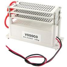 18/ч Портативный генератор озона 110 В 220 В генератор озона очиститель воздуха, стерилизатор озона дополнение к formalde