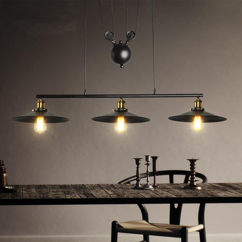 Retractable Pendant Lights