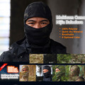 Promotion 2016 Multicam Tactical Nijia Balaclava/  MC Full face soft  Beanies Multicam Black/ Multicam Tropic/ Multicam Ariod