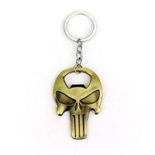 The Punisher Skull Bottle Opener & Keychain