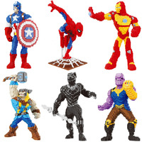 Balody DIY Building Diamond Blocks Toy Super hero Spiderman Thunder Thor Captain America Black Panther Marvel Avengers mario