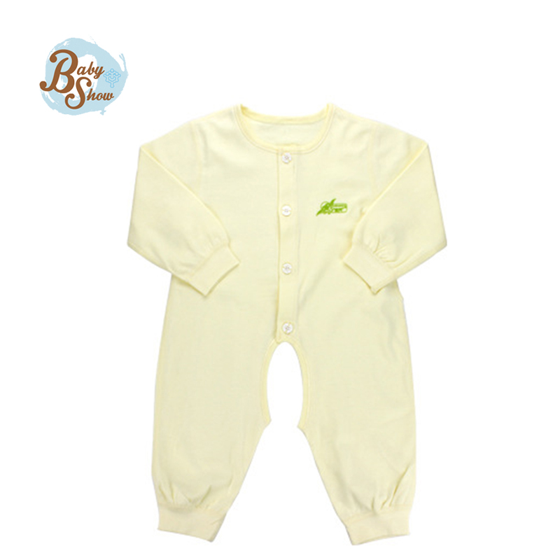 Washable newbron cotton clothing Minion Cute Full Round Neck Infant Bebe baby girl clothes Unisex Kids Cotton
