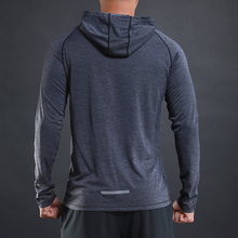 Reflective Long Sleeve Gym T-Shirts Men Breathable Yoga Top Sportswear Fitness Jogging Clothes Running Athletics Sports Shirts