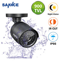 FB SANNCE High Quality 800TVL CCTV Camera Analog Bullet IR Cut Filter 24 Hours Day/Night Vision Video Waterproof Surveillance