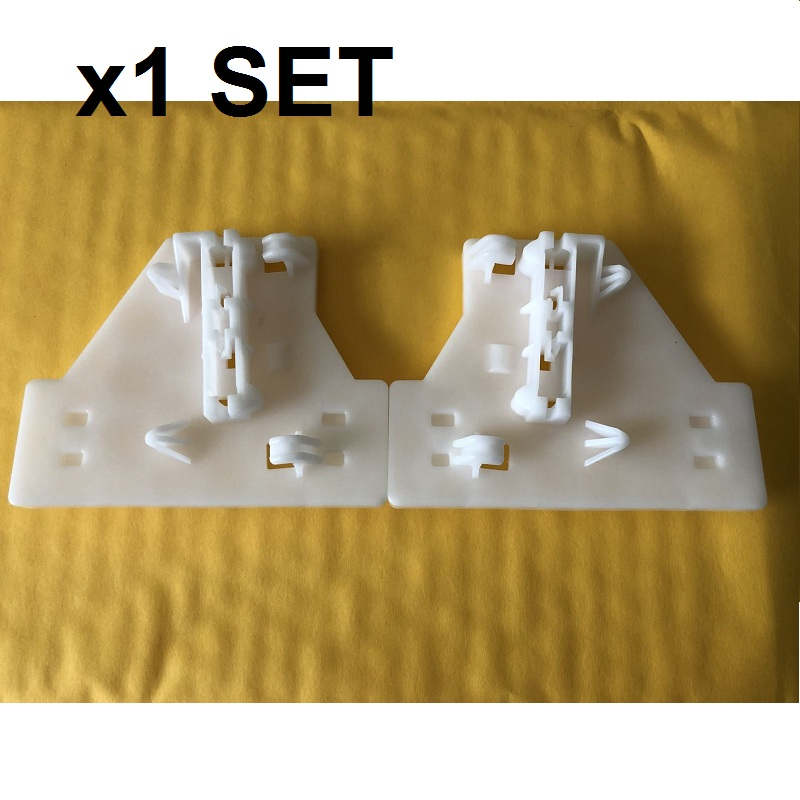 X1 PC WINDOW REGULATOR REPAIR KIT REAR LEFT&RIGHT FOR AUDI A4 B6/B7 8E 2000-2008