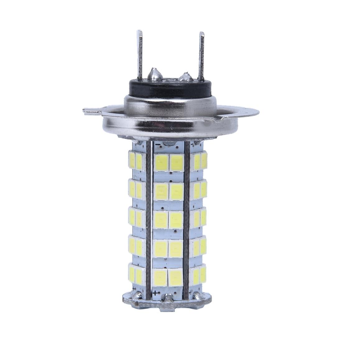 lamp bulb h7 3528 smd 68 led white 12v for car in car. Black Bedroom Furniture Sets. Home Design Ideas