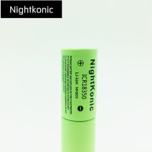 High quality Nightkonic ICR 18350 Rechargeable Battery 900mAh  3.7V Li-ion flat top