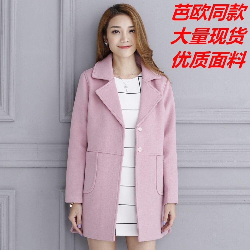 270721588b8 Coats Winter Coat Women Wool Casaco Feminino Manteau Femme Jacket Woman  Womens Elegant Cashmere Hiver-in Wool   Blends from Women s Clothing    Accessories