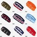 New Chegou Tiras watchband nato cintas de nylon impermeável sport pulso faixa de relógio DA OTAN Multi tamanho & cor para escolher