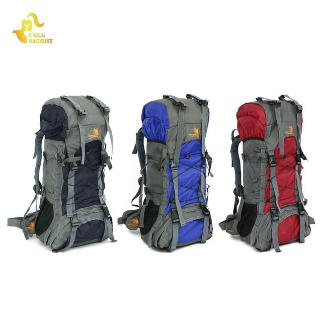 d027f1b43c Free Knight FK008 Outdoor 60L Nylon Water Resistant Backpack Mountaineering  Climbing Hiking Cycling Adventuring Bag