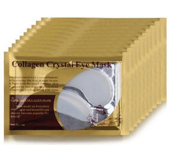 100 Pares Transparente Pó De Colágeno Cristal