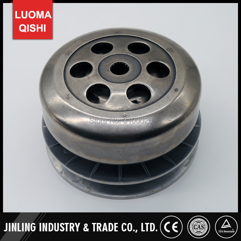 300CC Driving Gear Clutch Plate assy Fit For Stels Feishen Buyang FA-D300 H300 Linhai LH260 300 Quad Bike ATV Parts buyang fa k550 n550 feishen ignition coil 550cc atv quad motorcycle ignitor moto gp accessories free shipping