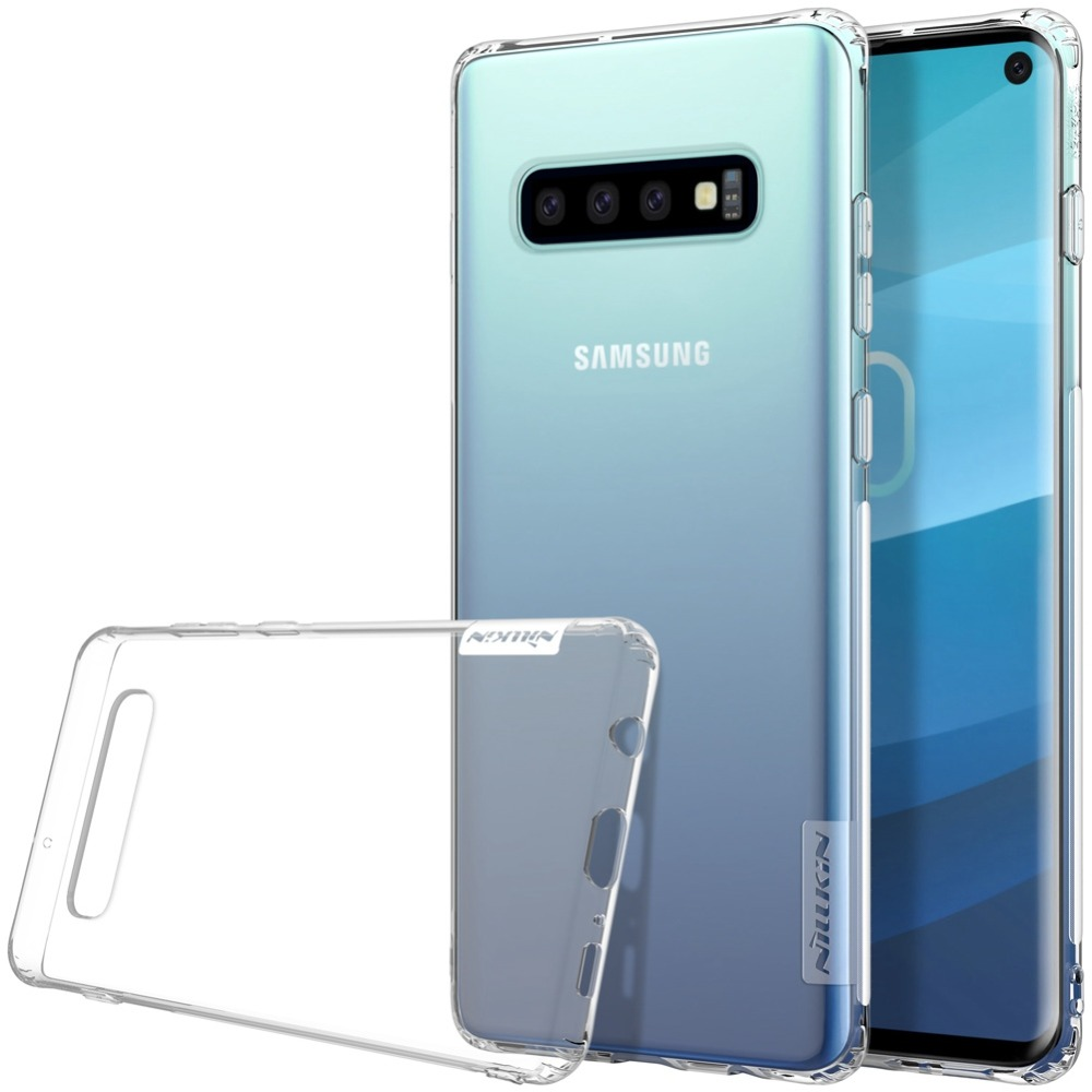 Case For Samsung Galaxy S10 Silicone Cover On Transparent Case For Mobile Phone Telephone Smartphone
