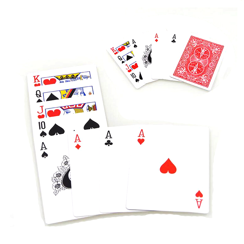 Surprise Choose Card Sets Kit Magic Crazy Choice Card Deck Magic Trick Mentalism Illusion Close Up Magic Toy Easy To Do
