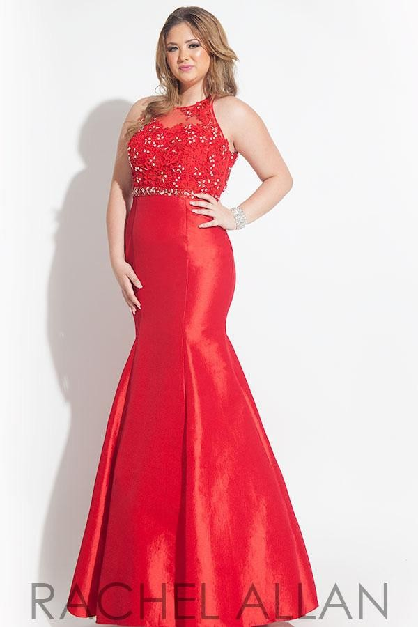 Popular Red Plus Size Prom Dresses-Buy Cheap Red Plus Size Prom ...