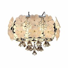 BOKT Modern Crystal Ceiling Light E14 Simple Bedroom Restaurant Lamp For Living Room Home Lighting