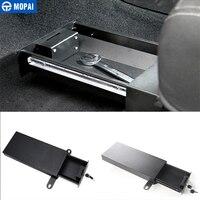 MOPAI Metal Car Interior Under Seats Lock Drawer Storage Box Security Box Kit For Jeep Wrangler 2011 2016 Car Styling