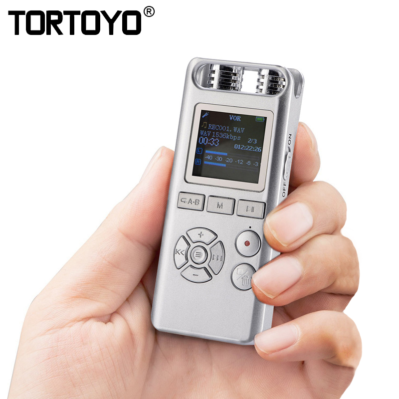 Professional Smart 8GB Digital Voice Recorder Audio Recording Pen Remote Sound Control Noise Reduction Stereo Loseless Music MP3