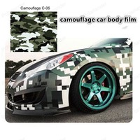 Hot sale camouflage Car Stickers car wrap film with air bubble free auto stickers camo vinyl foil 154*15cm/roll