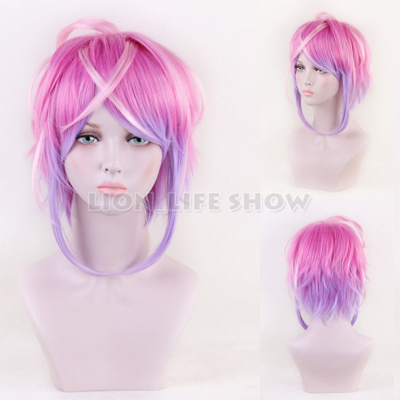 Hypnosis Mic Division Rap Battle Amemura Ramuda Cosplay Wig Unisex Party Wigs