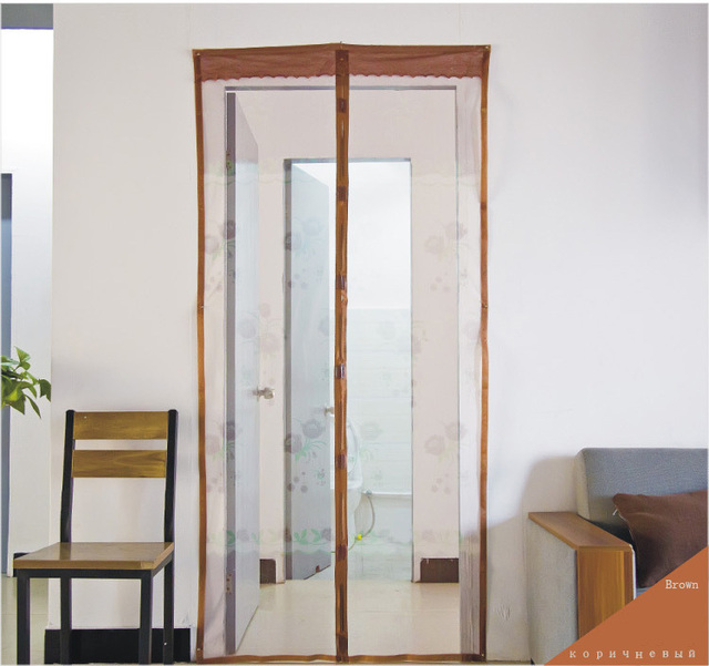 2015 Summer Kitchen Mosquito Net Interior Doors Nylon Curtain Family